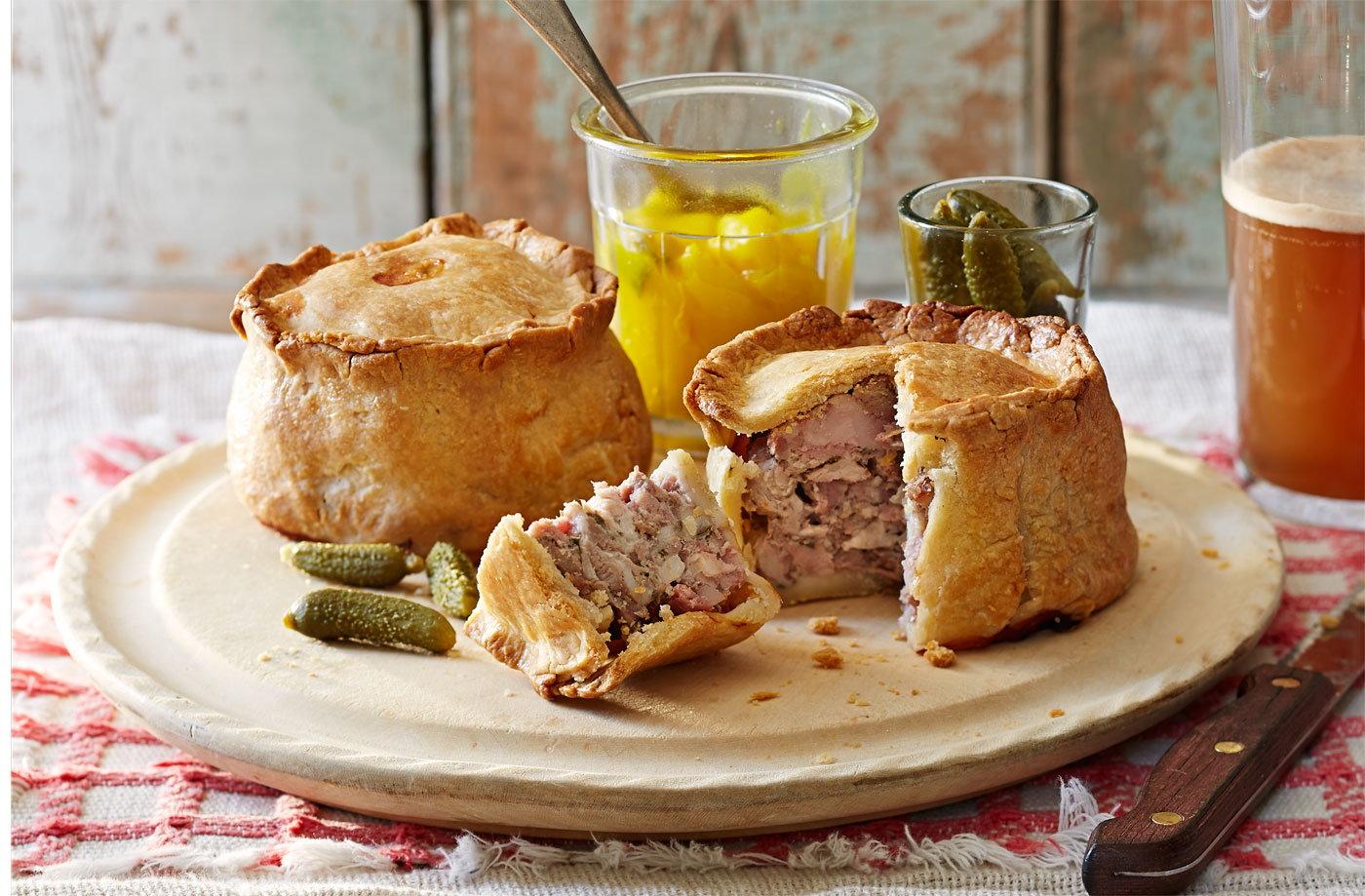 proper pork pies tesco real food