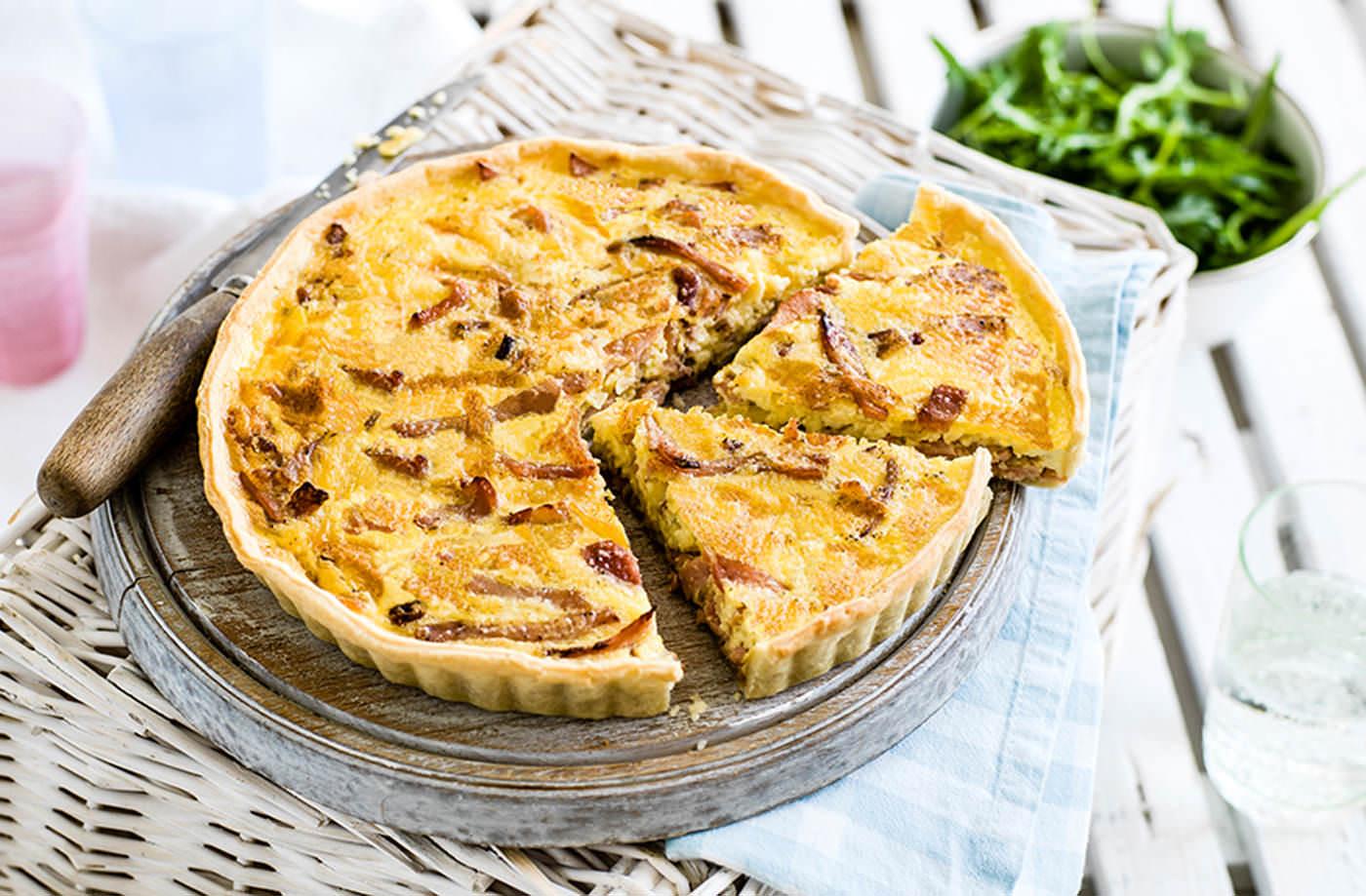 Quiche Lorraine Recipe Quiche Recipes Tesco Real Food