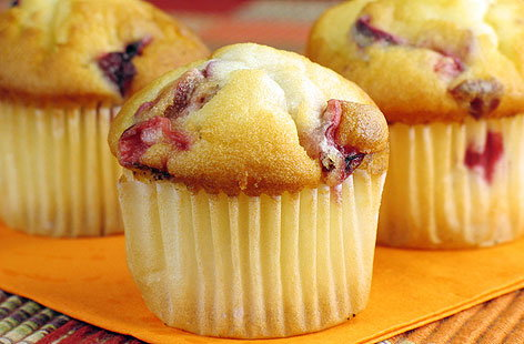 RASPBERRY & LEMON MUFFINSThumb