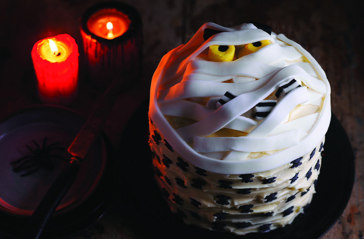 Halloween Cake Decorations Tesco : Mummy Cake Recipe Recipe Halloween Food Tesco Real Food