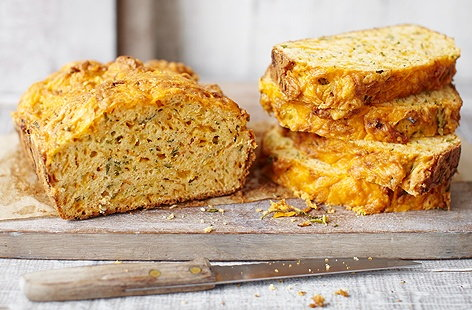 Courgette and carrot bread