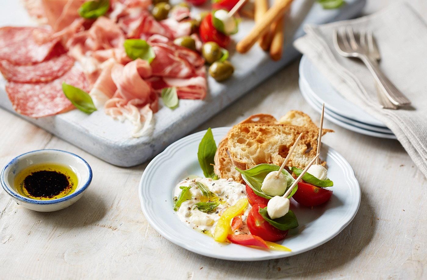 Antipasti sharing board tesco real food for Antipasti sfiziosi