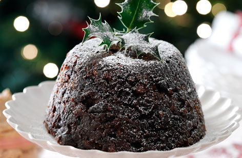 Rich Christmas pudding HERO
