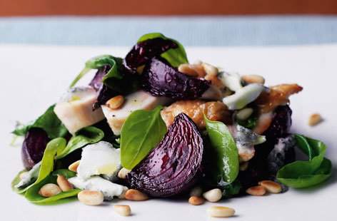 Roast chicken breast  beetroot and pine nuts with a warm spinach salad Thumbnail  17f4e466 3114 48b3 be81 6c7d2fb1ea36 0 146x128