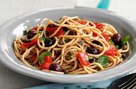 Roasted Pepper and Olive Spaghetti thumb a5f9fd5f 8632 42d5 8054 4a76acef2f22 0 146x128