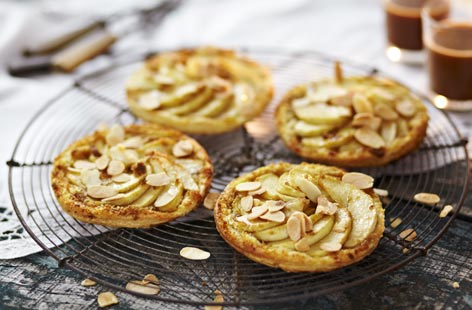 Spanish apple tart