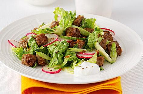 Saffron Lamb SaladHERO