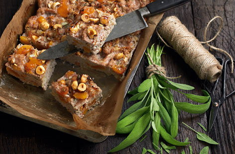 Sage, apple and pork stuffing