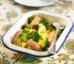 Sausages with Broccoli & Potatoes THUMB