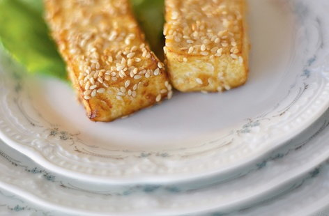 Sesame Tofu HERO