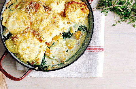 Smoked haddock and potato gratin HERO