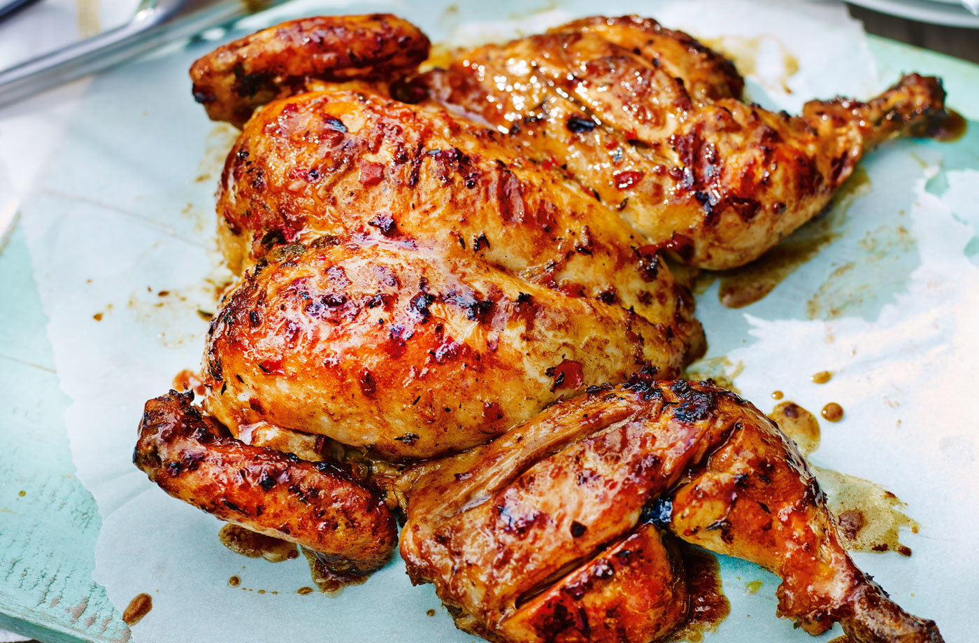 spicy and zesty chicken that is ideal for barbecues.