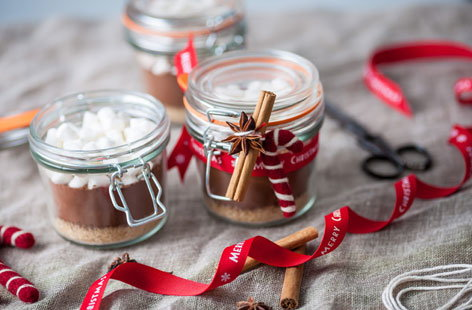 Frances Atkins' spiced hot chocolate kit