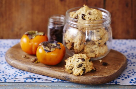 Spiced persimmon cookies   THUMB