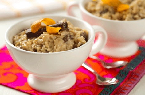 Dairy-free spiced rice pudding
