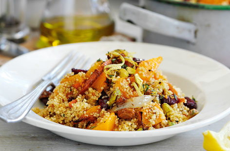 Spiced squash salad HERO