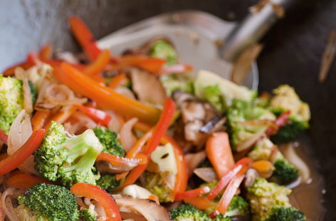 Spicy stir fried vegetables HERO