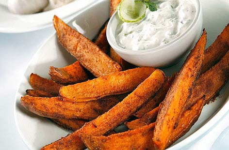 Spicy sweet potato wedges 002THUMB