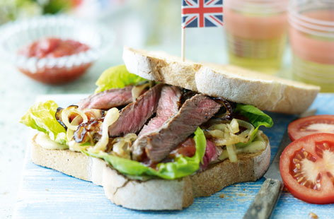 Steak sandwich HERO