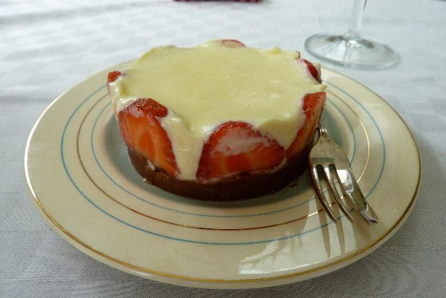 Strawberry White Chocolate Mousse Recipe — Dishmaps