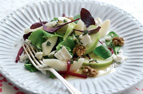 Summer apple & pear salad HERO