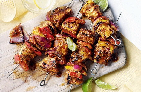 chicken kebabs tender teriyaki chicken kebabs chicken kebabs