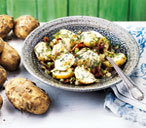 Potato salad with fennel & pancetta