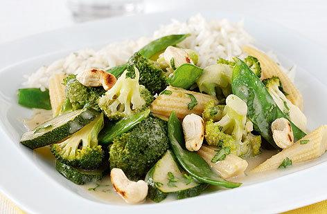 Thai green vegetable curry | Tesco Real Food