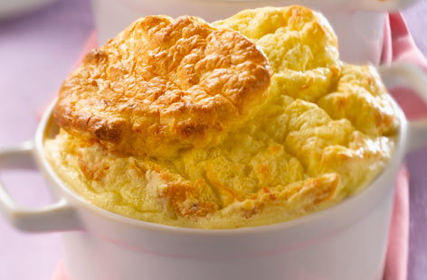 Three Cheese Souffle (h)