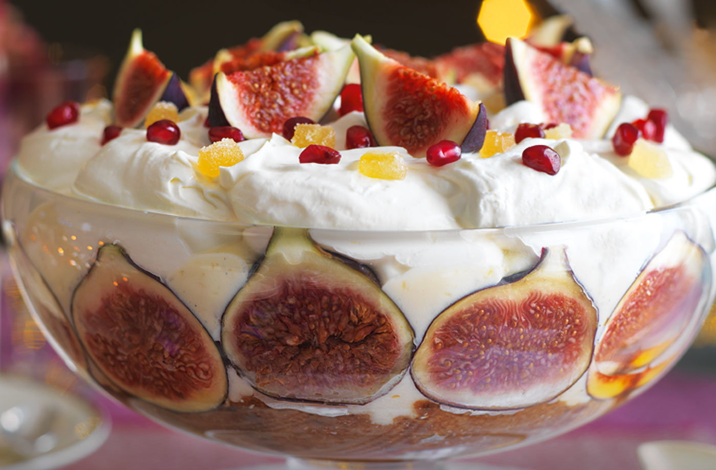 Fig And Ginger Trifle Tesco Real Food