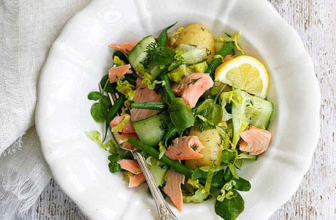 Trout & Watercress SaladTHUMB