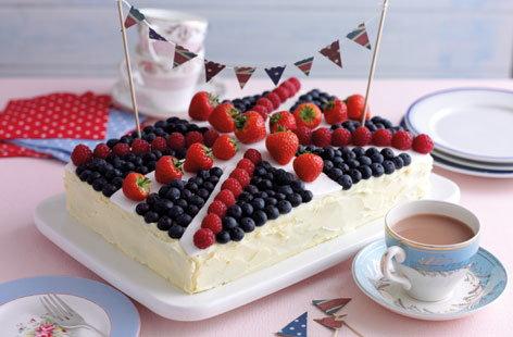 Union Jack Jubilee Cake Tesco Real Food