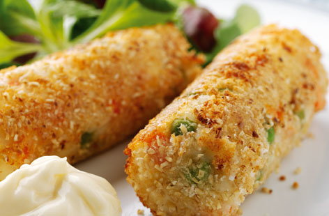 Vegetable & Cottage Cheese Croquettes THUMB