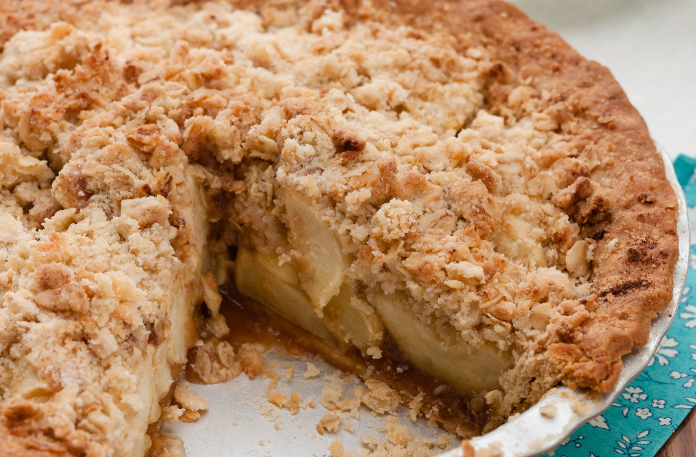 Apple Crumble Pie Recipe — Dishmaps