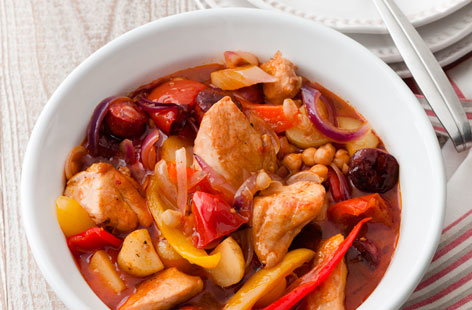 chicken chrizo stew THUMB