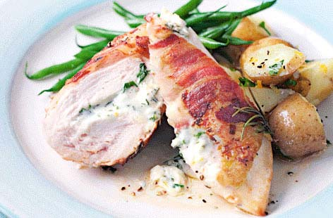 Chicken with pancetta & mascarpone | Tesco Real Food