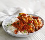 Tasty chicken tikka masala