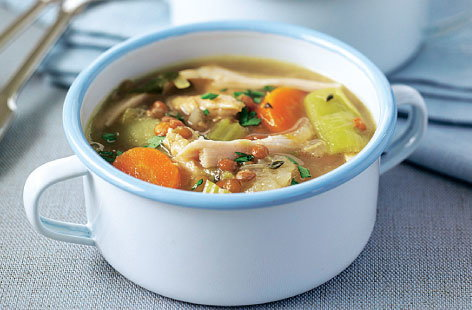 hearty chicken soup THUMB