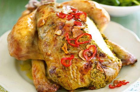 Thai-spiced roast chicken | Tesco Real Food