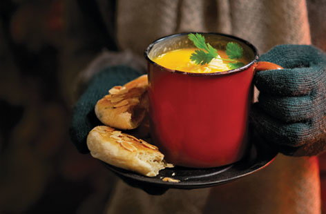 Keep-me-warm curry soup