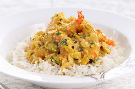 king prawn korma HERO
