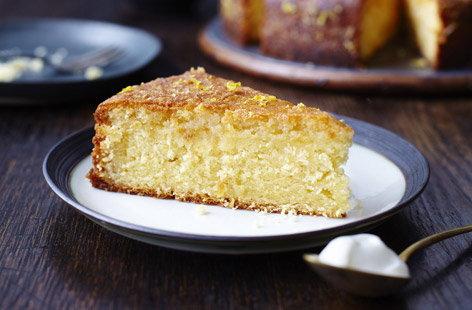 Greek Lemon Cake History