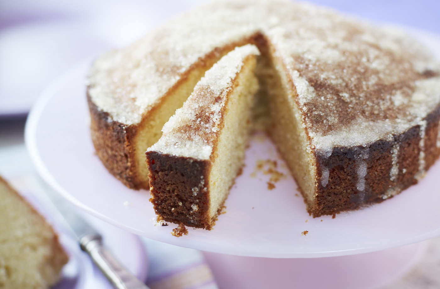 Egg Free Lemon Drizzle Cake Recipe