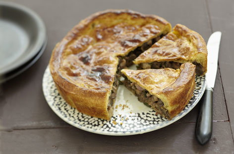 pie vegan steak and mushroom pie from mushroom pie vegan mushroom pie ...