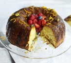 Boozy orange savarin