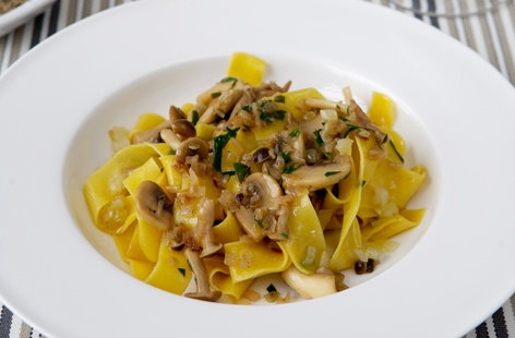 pappardelle of shallotsHERO