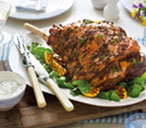 roast lamb with minty yoghurt THUMB