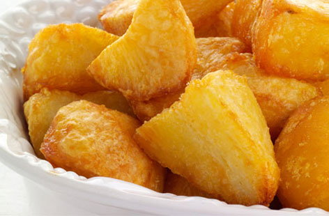 roast potatoes (h)