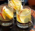 White wine spiced apple and pear punch