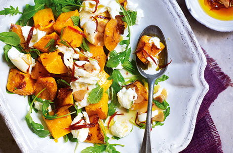 squash and mozarella salad HERO
